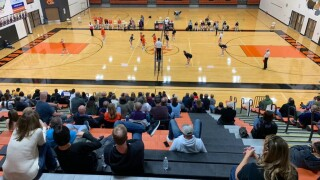 Byron Center volleyball