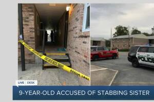 Authorities: Florida boy, 9, stabs younger sister with knife