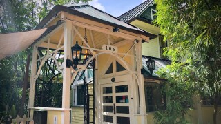 Sundy House is a very Hidden Gem in Delray Beach located just off Atlantic Avenue.  It's perfect for special occasions like a marriage proposal.
