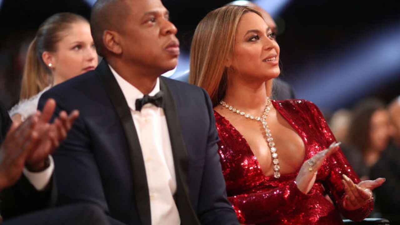 Some guy bolted toward Jay-Z and Beyoncé at their Atlanta show. (He didn't get far)
