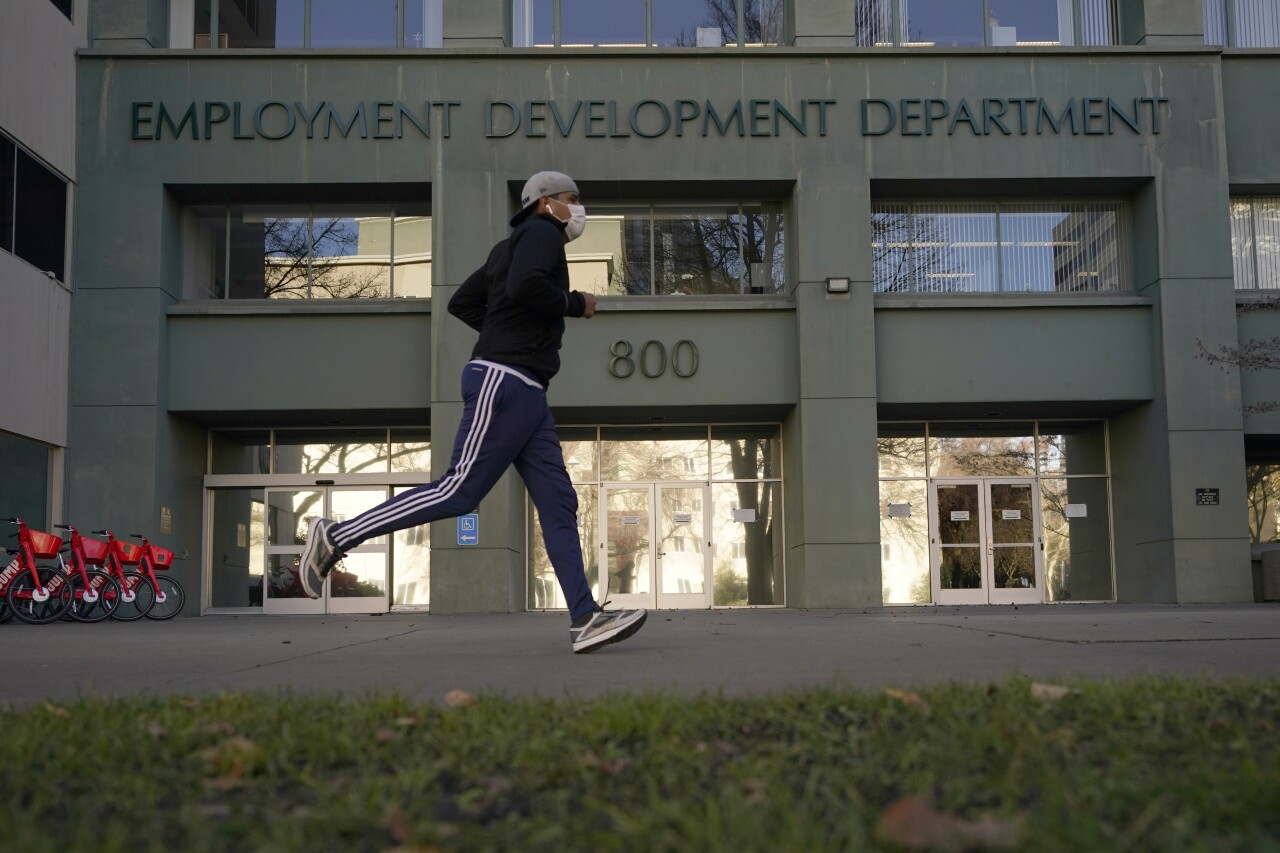 Employment Development Department - EDD (FILE)