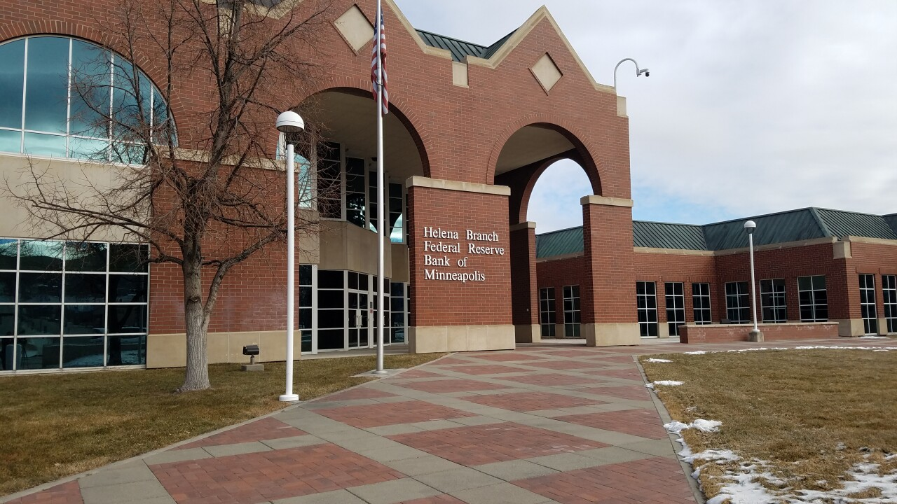 Federal Reserve Bank of Minneapolis Helena Branch