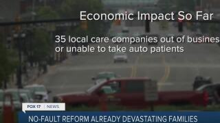 No Fault Auto Reform is Shutting Companies Down