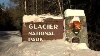 Glacier National Park Winter Sig