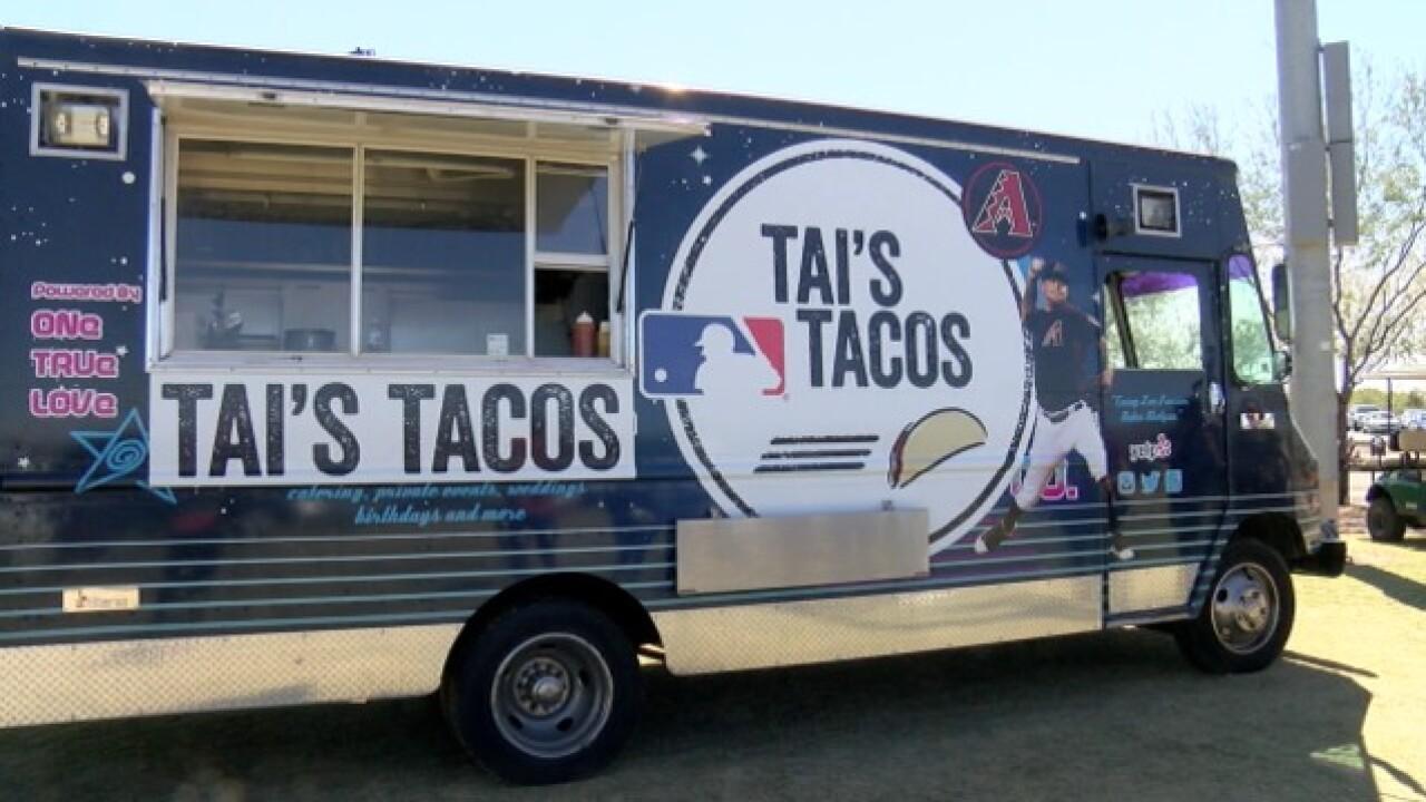 FREE TACOS! D-backs Taijuan Walker gets a truck