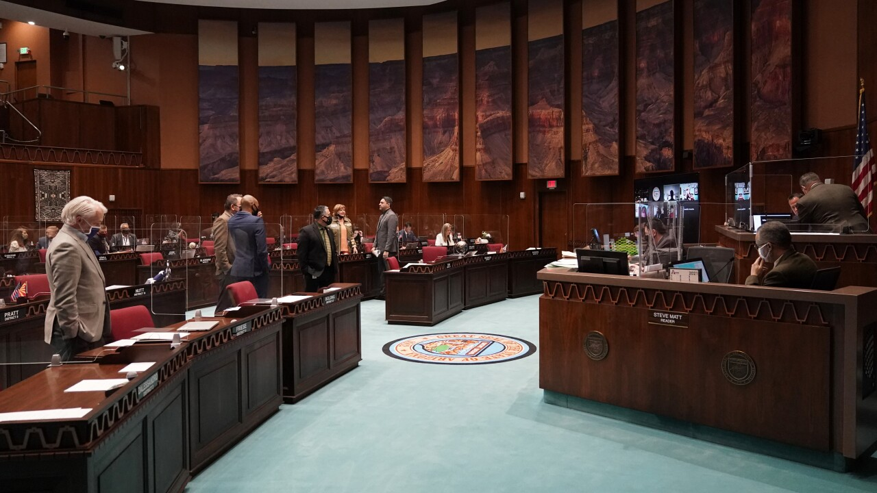 Arizona lawmakers are moving to revamp sex education laws to be some of the strictest in the nation when it comes to teaching about LGBTQ issues. AP photo.