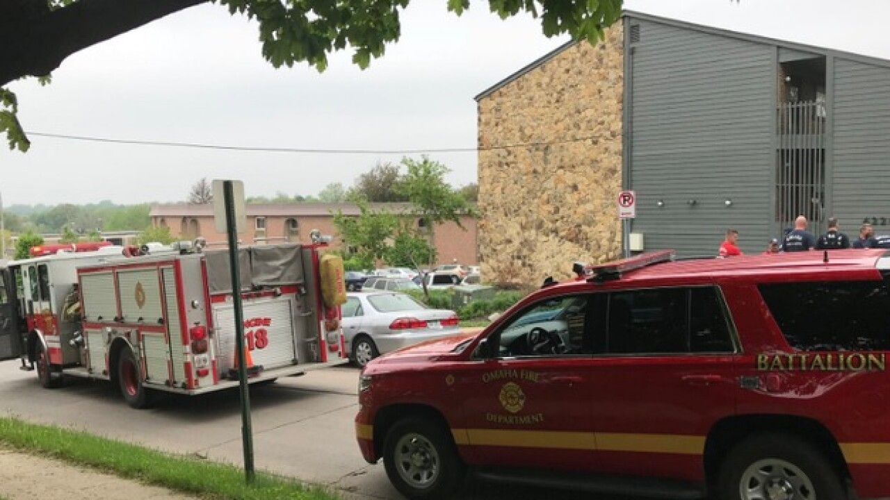 Man found dead after reported fire at apartments near 42nd and Francis