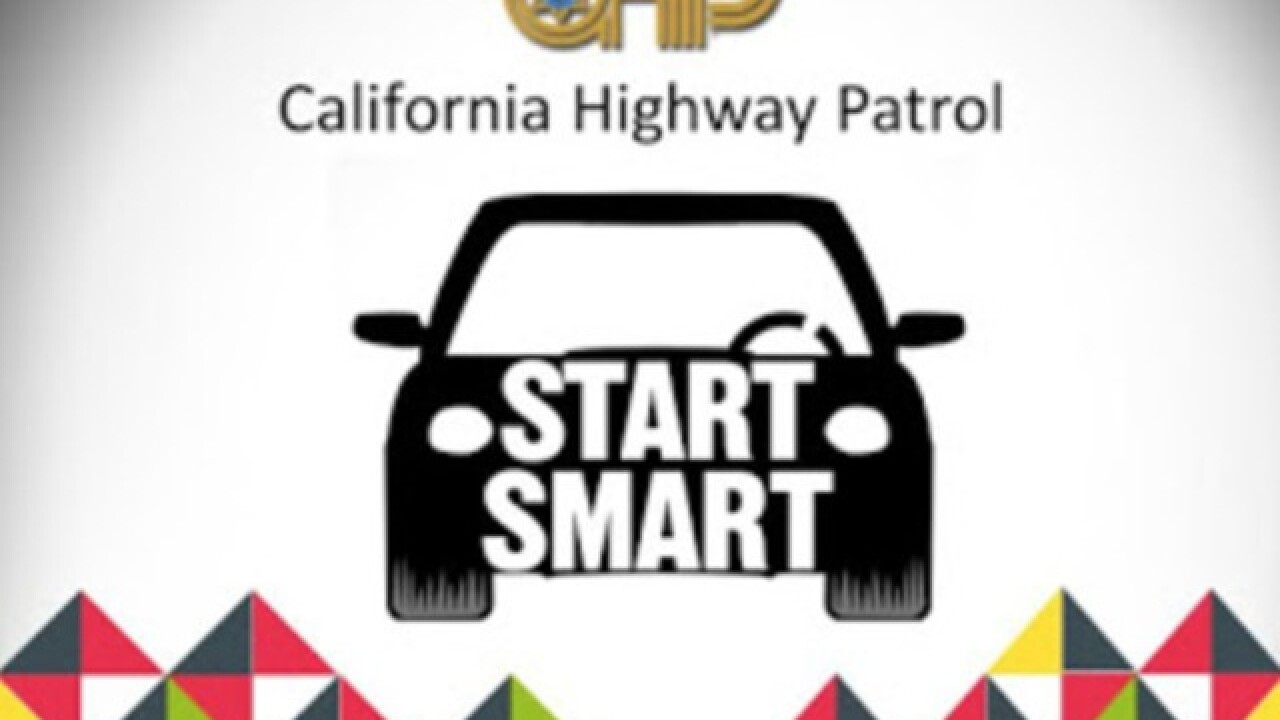 "CHP holding ""Start Smart"" class for teen drivers on Tuesday"