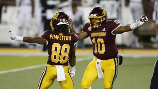 Kalil Pimpleton, Daniel Richardson Ohio Central Michigan Football