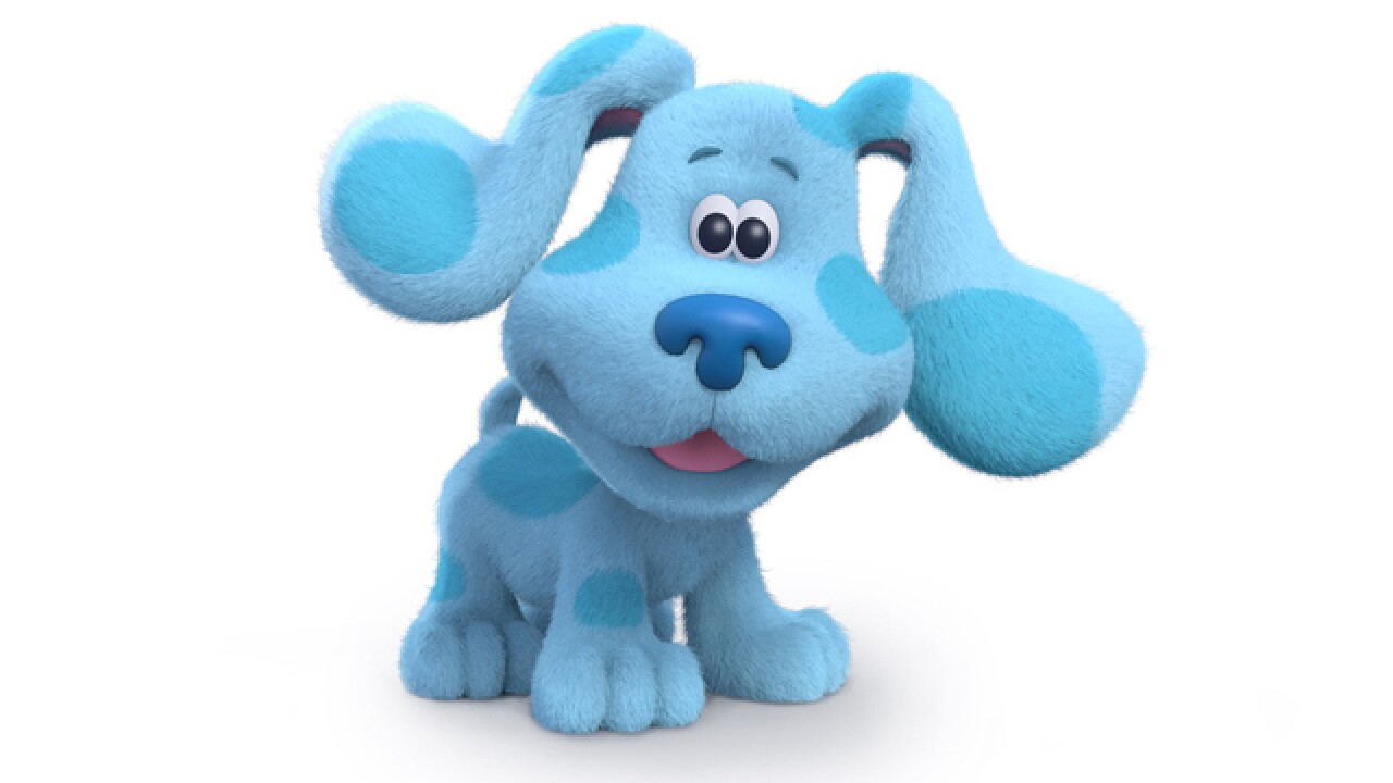 'Blue's Clues' gets rebooted with new host and title
