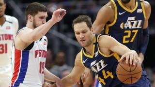 Bojan Bogdanovic Jazz Pistons Basketball