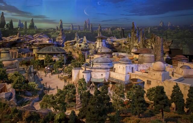 PHOTOS: Disney unveils models of 'Star Wars Land' under construction at Disney's Hollywood Studios