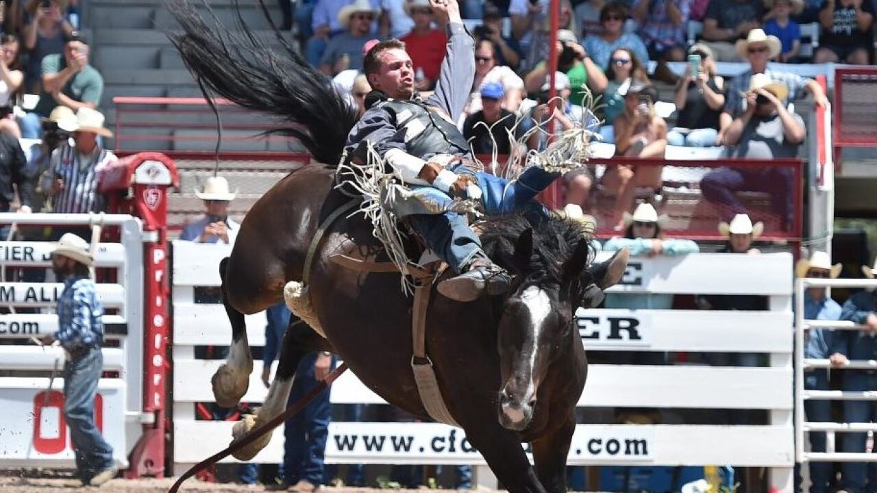 Orin Larsen hits 90-point mark at Cheyenne Frontier Days