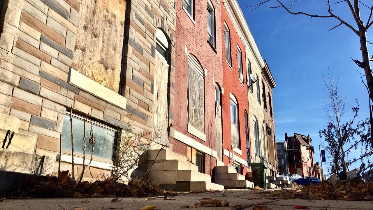 2400 W. Baltimore Street Homicide