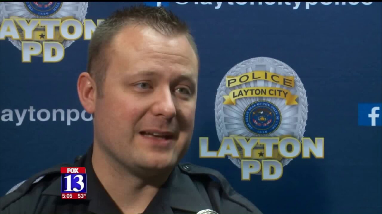 Layton police say two arrested after investigation into 'boogeling' spree