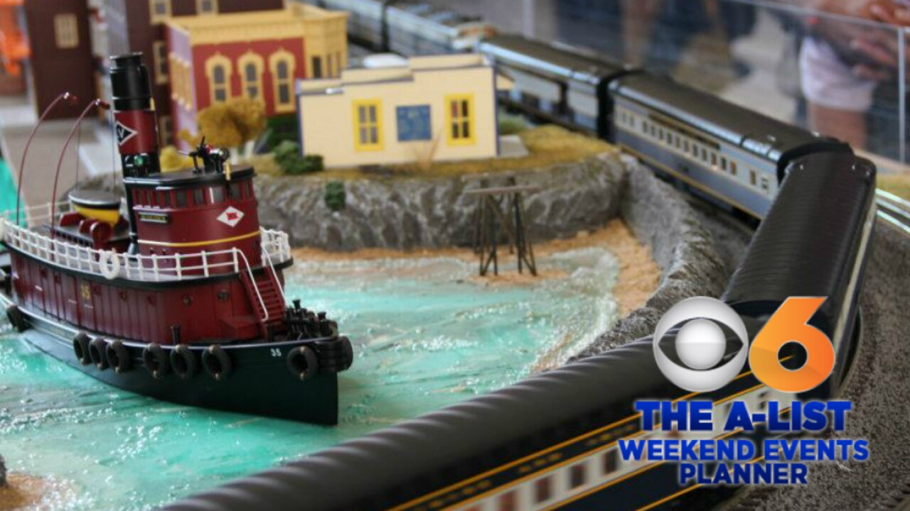 Weekend Events: RVA On Ice, Model Railroad Show, GardenFest ofLights