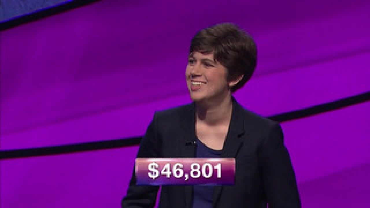 The woman who took the 'Jeopardy!' crown auditioned for the show four times