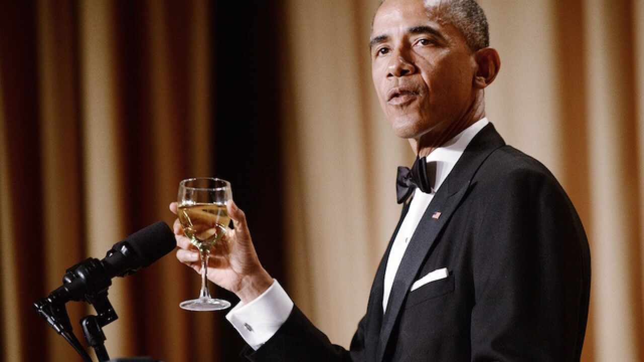 Watch online: Obama's final White House Correspondents' Dinner