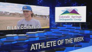 KOAA Athlete of the Week: Riley Cornelio, Pine Creek Baseball