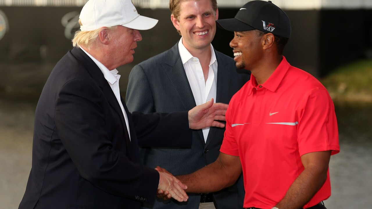 Trump to award Tiger Woods with the Presidential Medal of Freedom