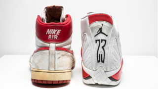 Vintage Michael Jordan shoes expected to fetch $500K at auction