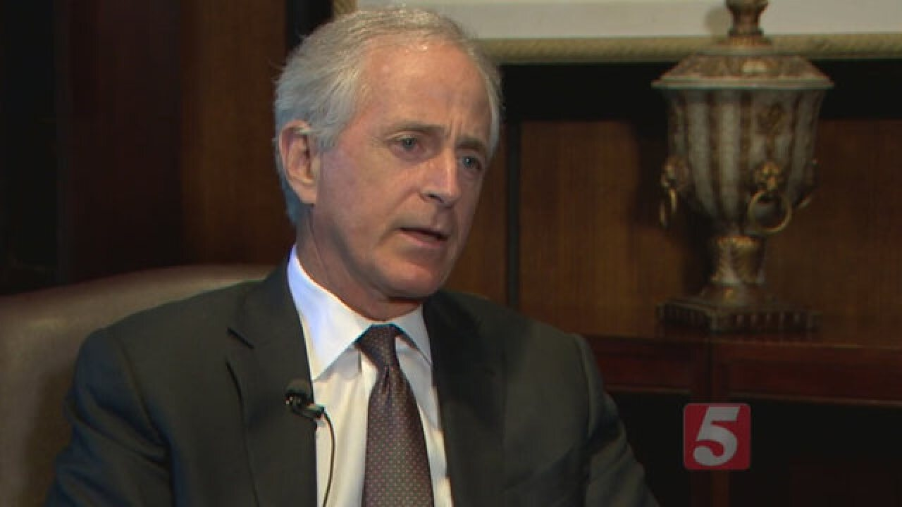 Sen. Bob Corker Won't Seek Re-Election