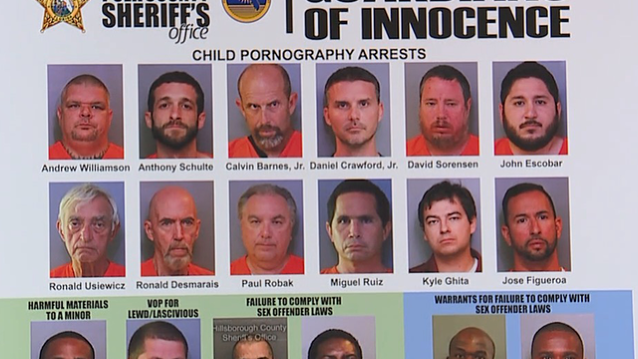 Detectives arrest 12 in undercover porn sting