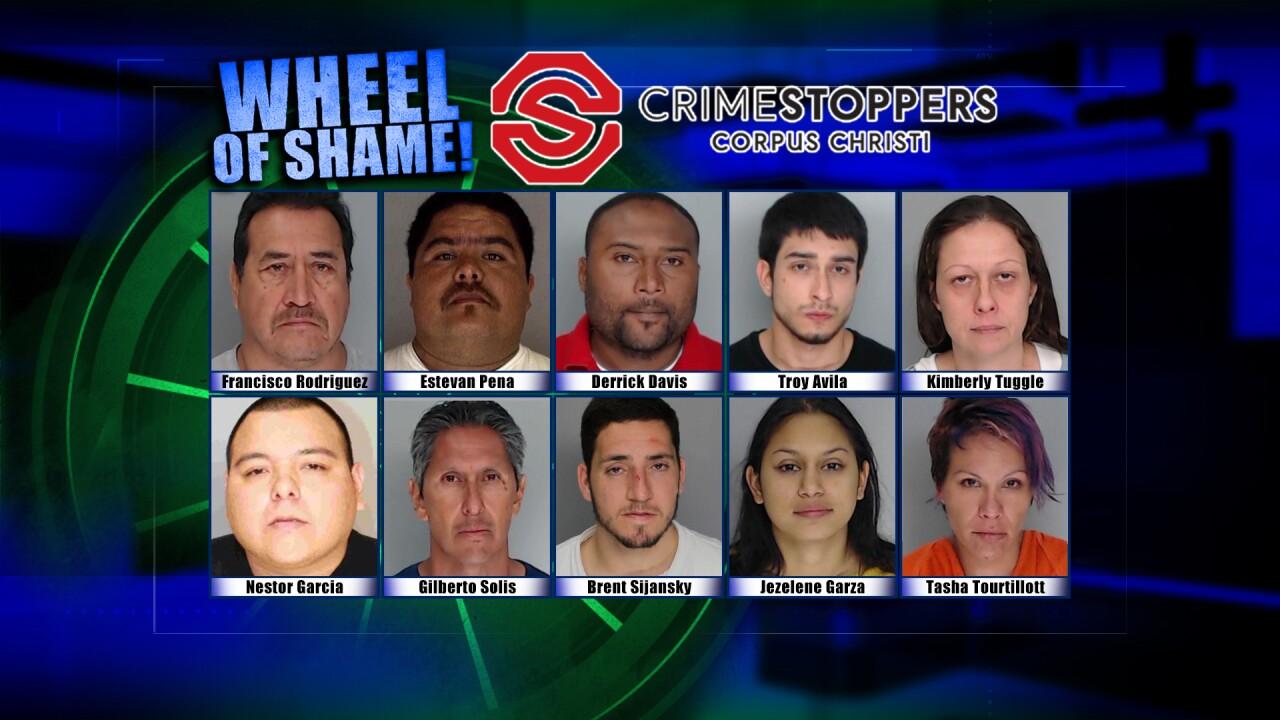 Wheel Of Shame Fugitives: November 13th