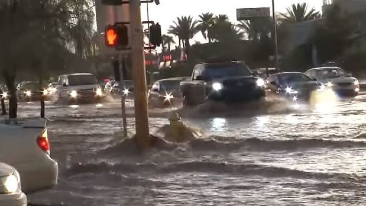 A brief history of the monsoon in Las Vegas