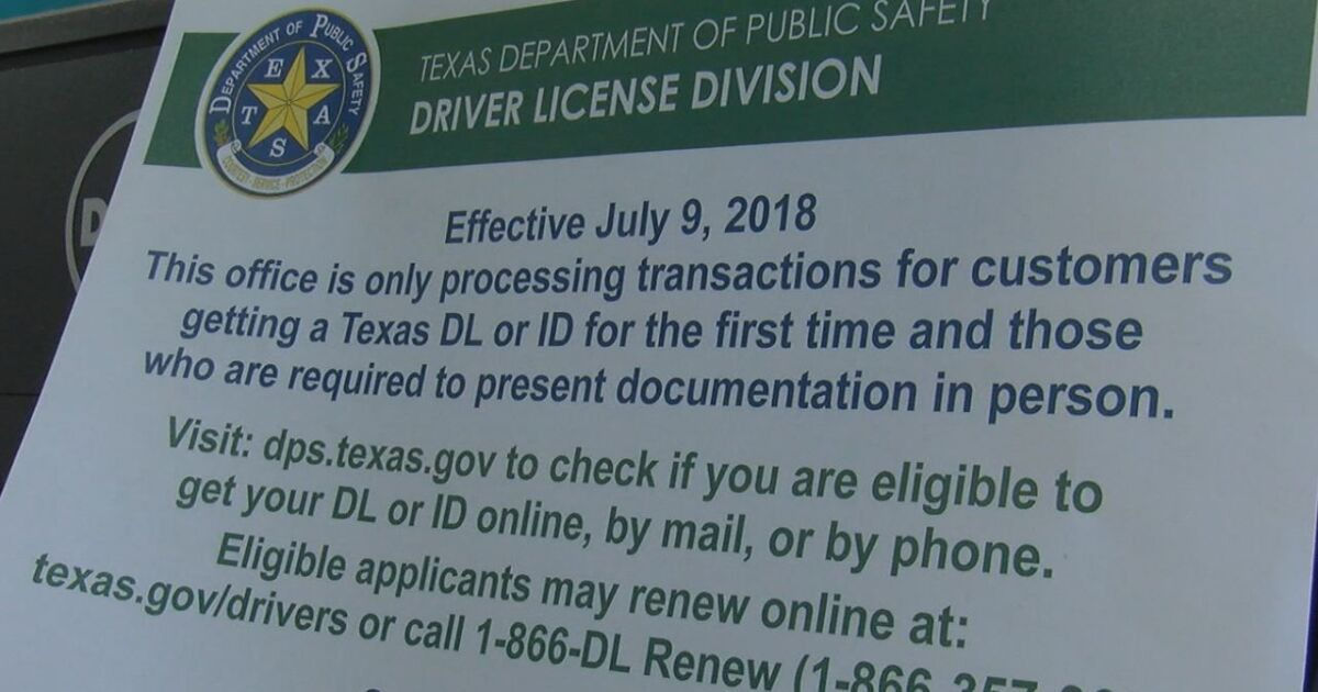 change of address for drivers license texas