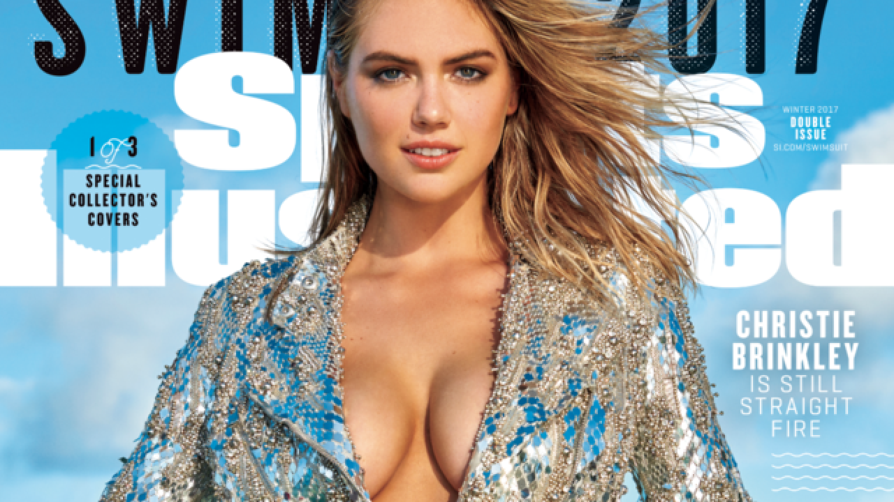 Kate Upton makes 2017 SI Swimsuit issue