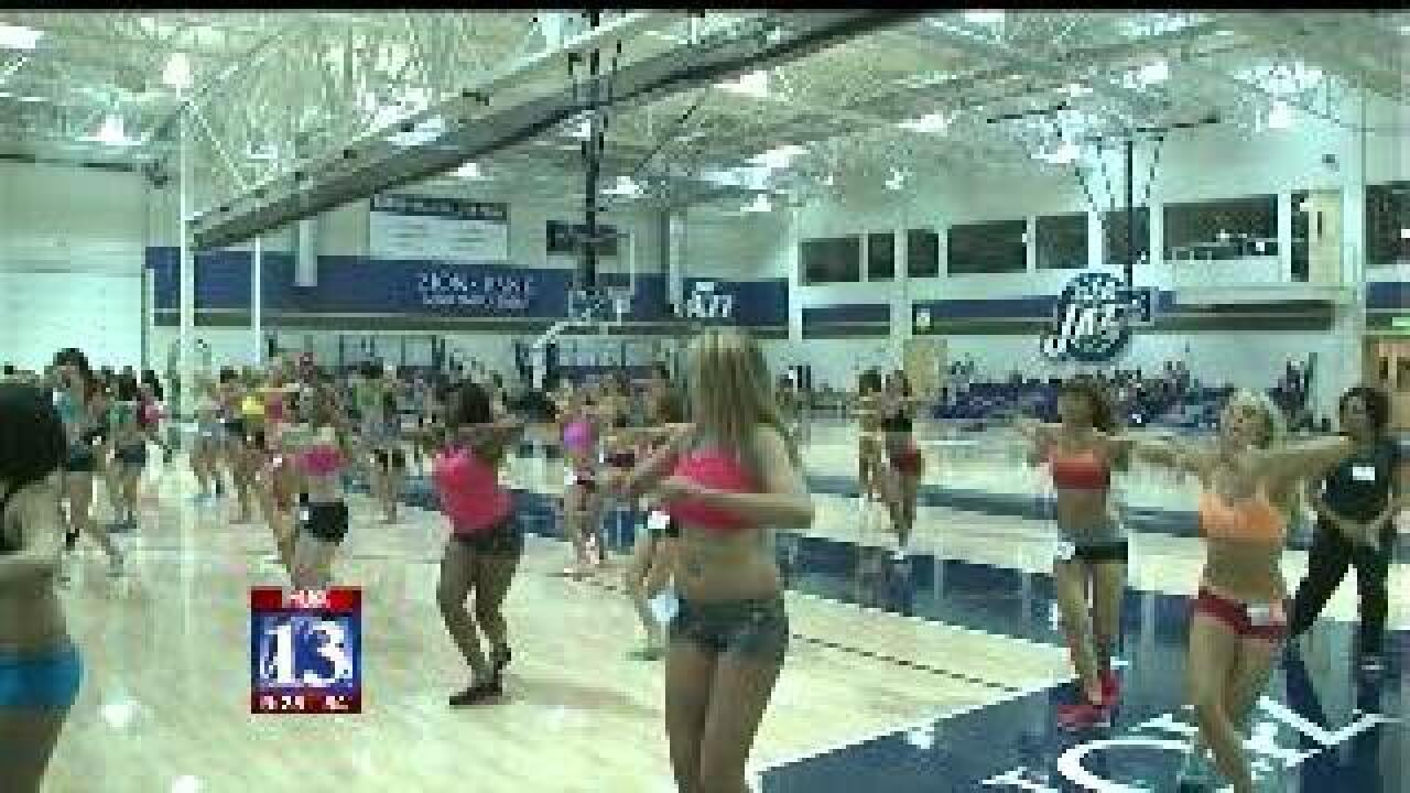 Nu Skin Jazz Dancer auditions this weekend