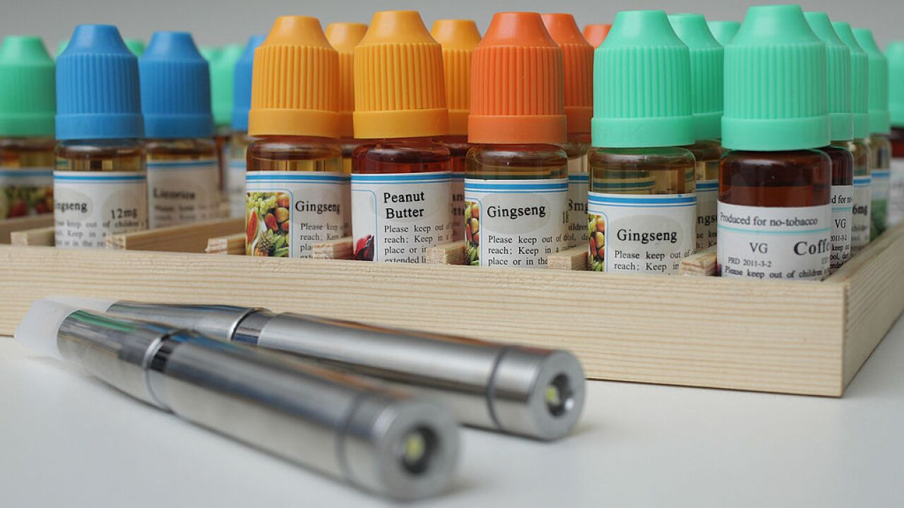 Michigan becomes first state to ban flavored e-cigarettes for minors