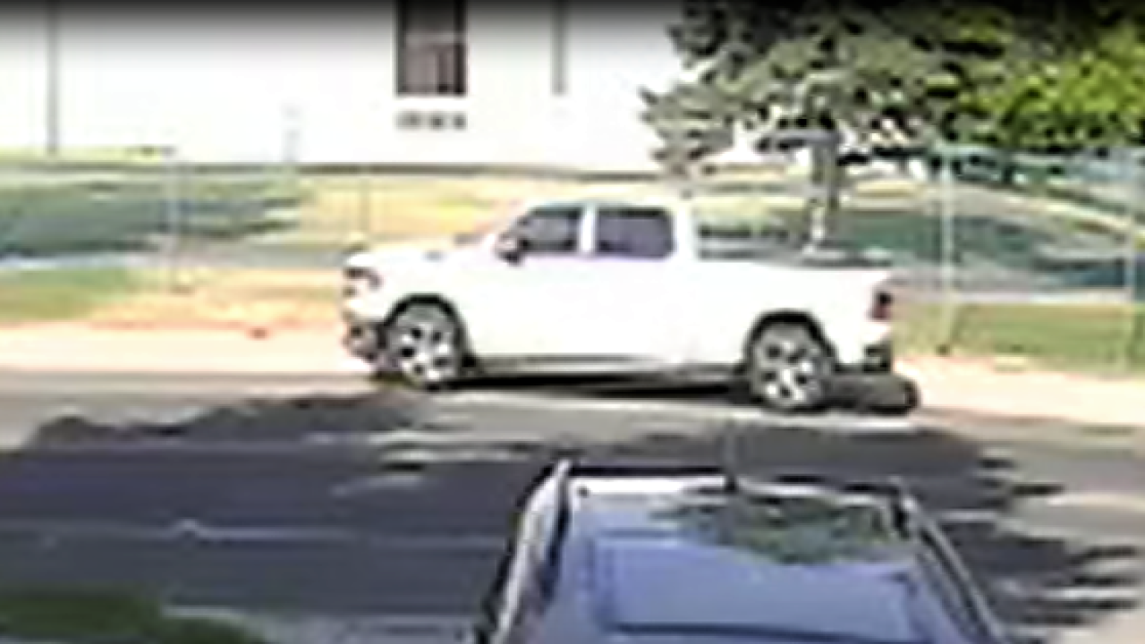 GFPD says the potential witness appears to have been driving a newer model white Dodge Ram