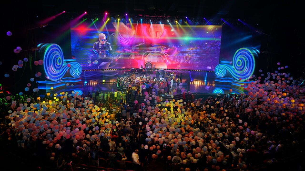Elton John performs final show of residency
