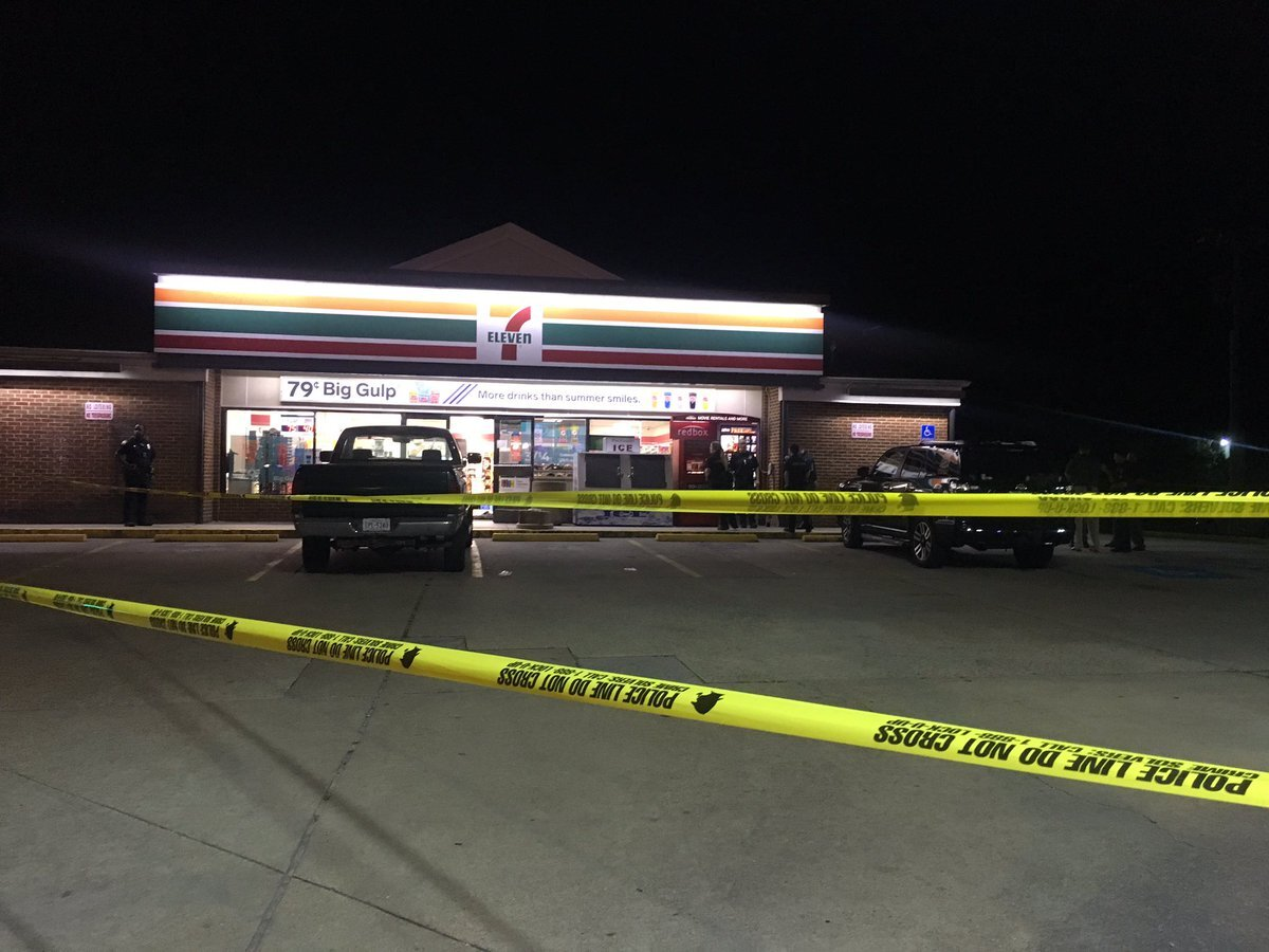 Photos: Customer kills one of two people trying to rob Virginia Beach 7-Eleven, policesay