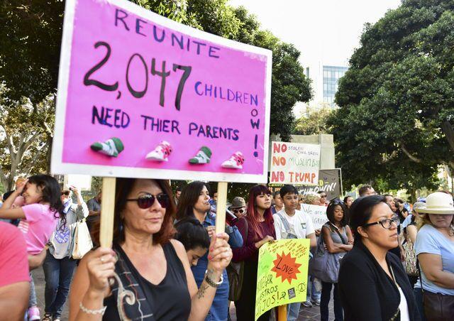 Photos: 'Families Belong Together' protests across U.S.
