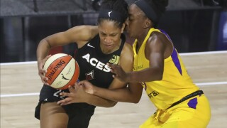 Aces Sparks Basketball