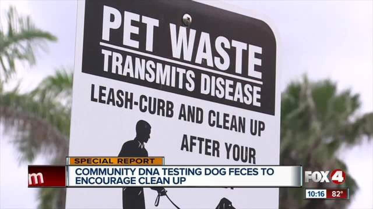Dog DNA registry to help force residents to pick up poop in