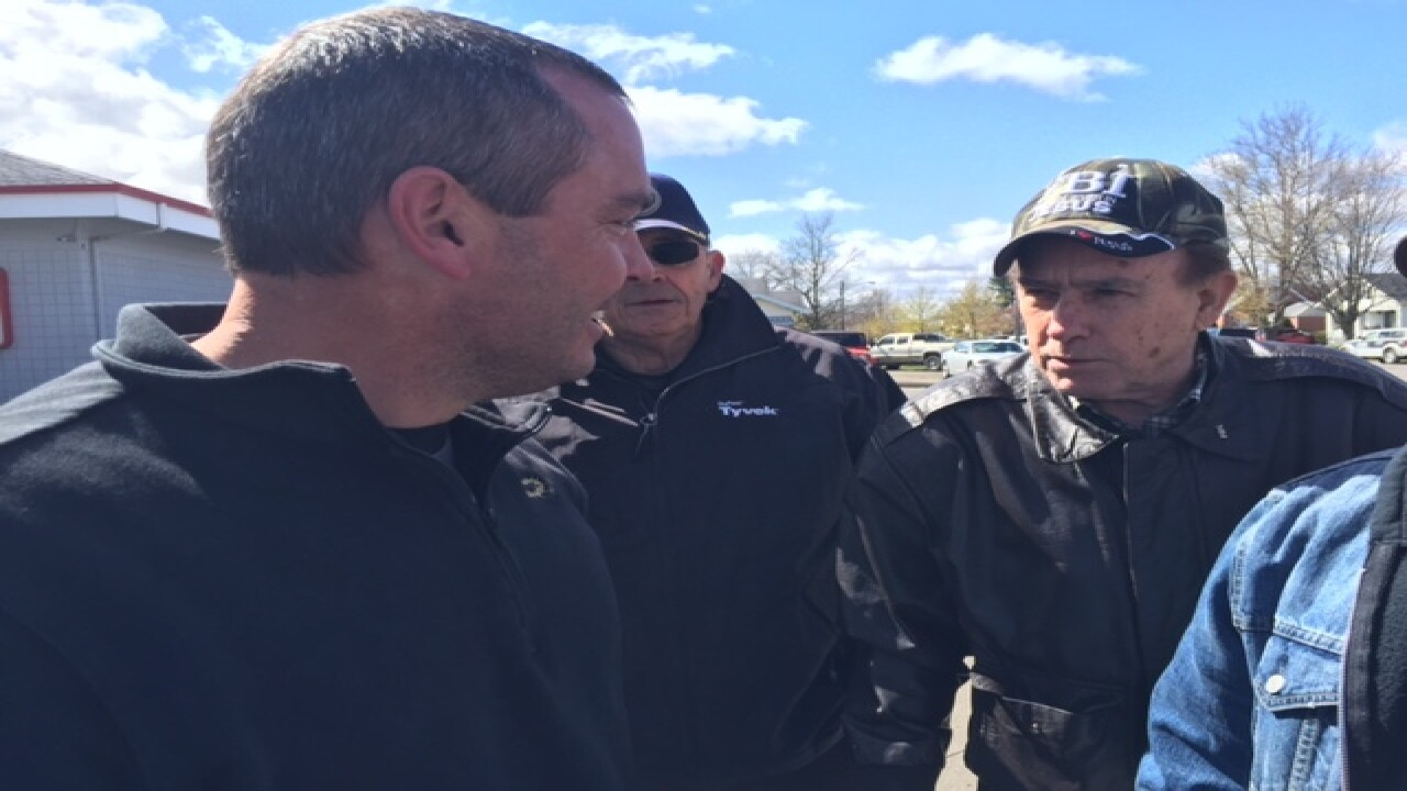 PICS: Fired trooper preaches in his hometown