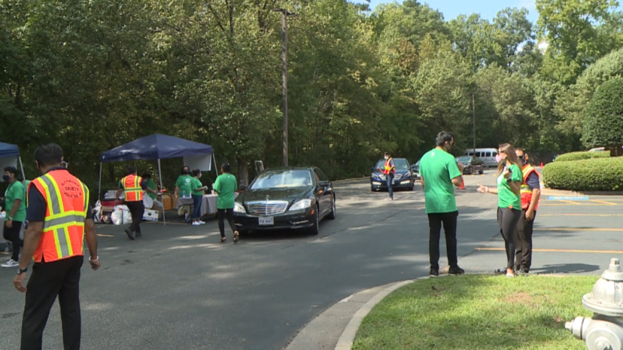 Henrico drive-through event supports Afghan refugees: 'I am feeling so good'