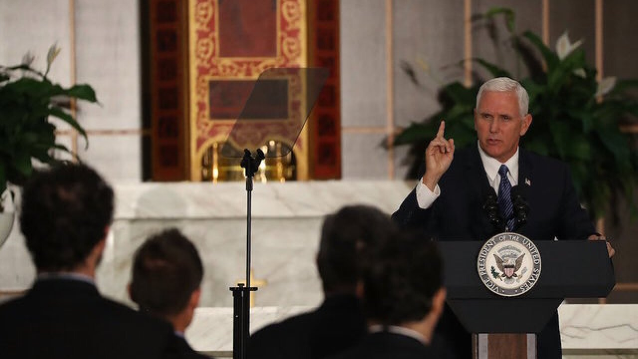 Top Pence aides quietly depart in new year