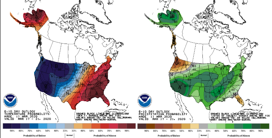 Climate Prediction Center 8-14 Day Outlook