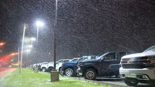 Snow in Mentor