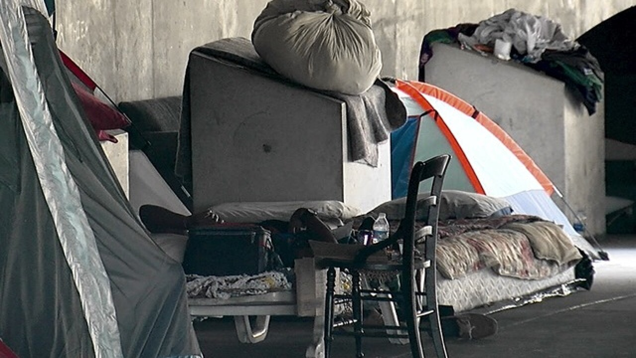 City takes action on Downtown homeless camp