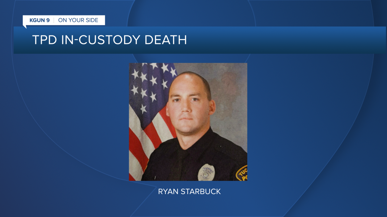 TPD officer Ryan Starbuck resigned the day before a TPD  investigation into the in-custody death of Carlos Adrian Ingram-Lopez was completed.