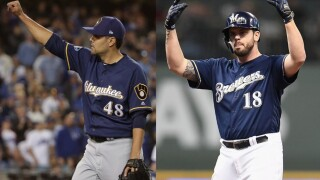 Mike Moustakas and Joakim Soria to leave the Brewers, elect for free agency