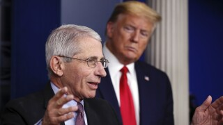 Trump hints that he may fire Fauci after the election
