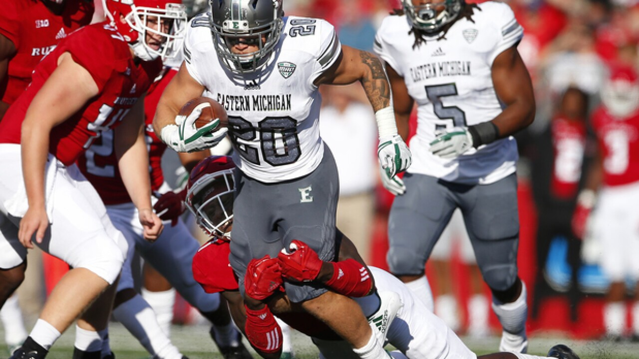 Eastern Michigan stymies Central Michigan