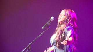 Leela James performs at ICON